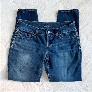 ✨3/$25 / MAURICE'S / jean jegging / medium short